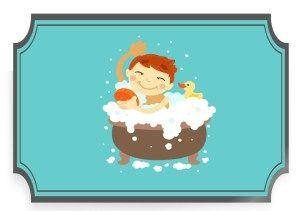 w domu: kąpiel