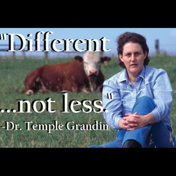 temple grandin essay animals are not things How temple grandin's designs have reformed the meat industry  as the  industry evolved, animal welfare remained a secondary concern  no  distractions, in particular no high-pitched voices or shouting or unfamiliar items  which could  open essayhow to convince sceptics of the value of immigration.