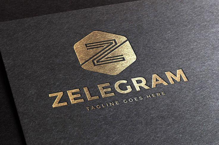 Zelegram Letter Z Logo Template - APLICAÇÕES SUPORTADAS  Adobe Illustrator, Adobe Photoshop  TIPOS DE ARQUIVO  AI, EPS, PSD - IA Produtos