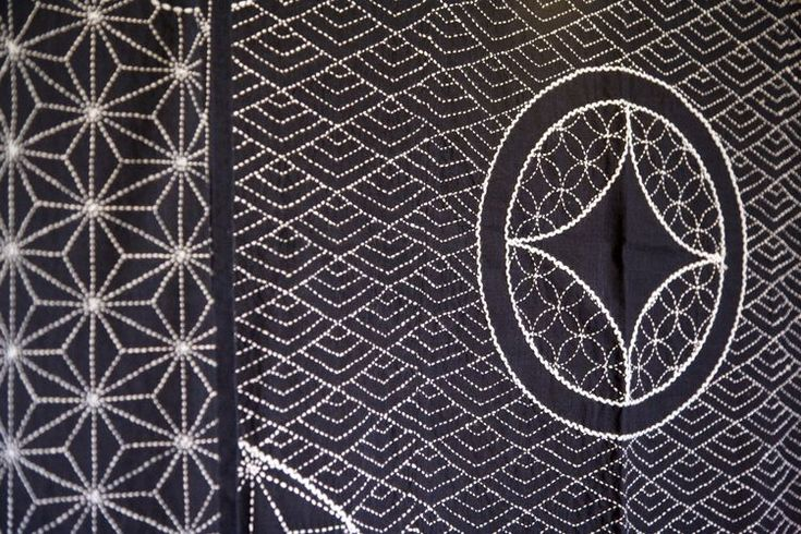 8 best Sashiko Embroidery images on Pinterest | Bordado japonés ...