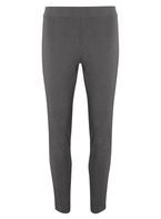 Womens Grey Pull On Skinny Stretch Trousers- Grey