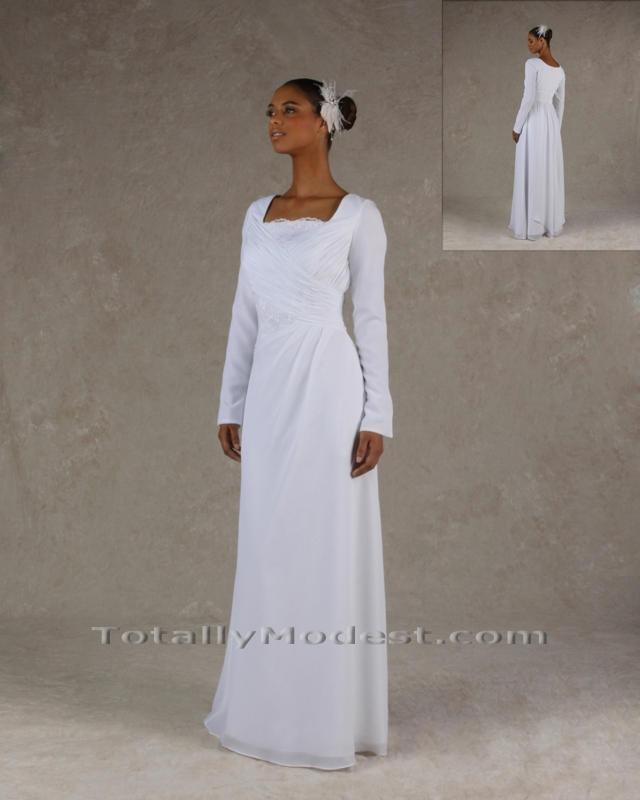 12 best images about temple dresses on pinterest vintage for Mormon temple wedding dresses