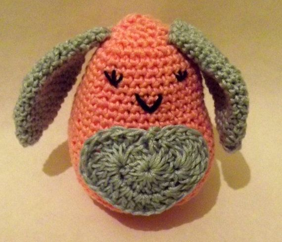 Little Pinky Bunny pattern by AdeHandmade on Etsy