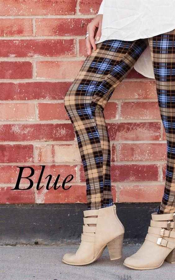 Plaid Leggings | Regular and Plus Sizes | Shop women's boutique clothing deals on Jane!