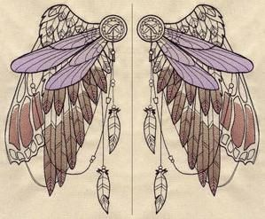 Spirited Wings (Wing Pair)_image GOES ON THE BACK OF A SHIRT