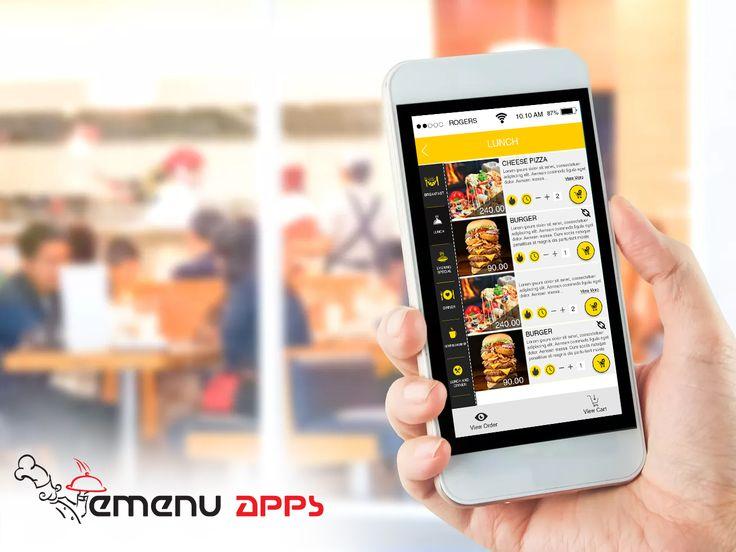 Best Hotel Application & Features of #emenu Application