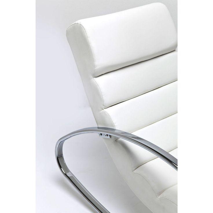 Manhattan White Rocking Chair • WOO Design