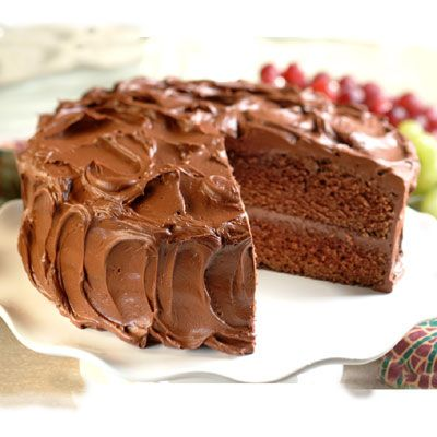 Moist and Tender Chocolate Cake