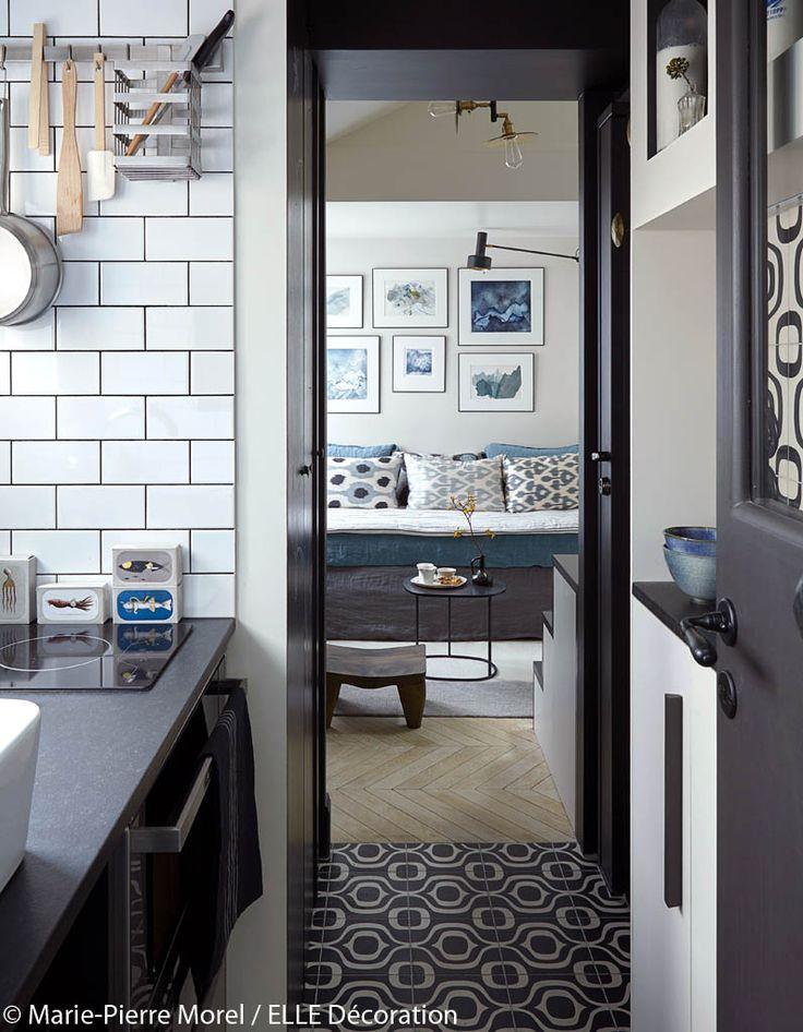 Aménagement petit studio sous les toits vivre dans 11 m2 elle décoration
