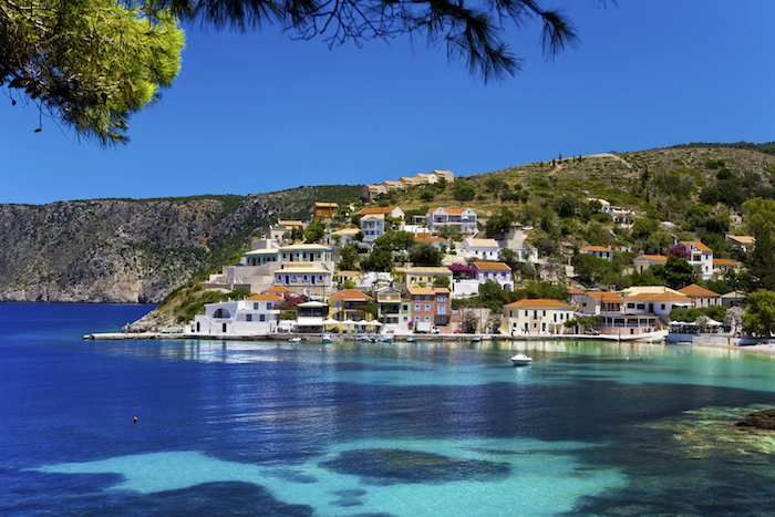 Another takes you from Tselentata, along the spine of the peninsula, to Assos
