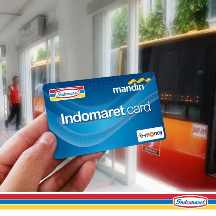 Naik Bus Trans jakarta/ Solo/ Yogya bisa pakai Indomaret Card lho... Dengan Indomaret Card, semua jadi lebih praktis. Dapatkan ditoko INDOMARET terdekat. #KicauanDomar