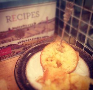 Lemon Curd Sponge Puddings