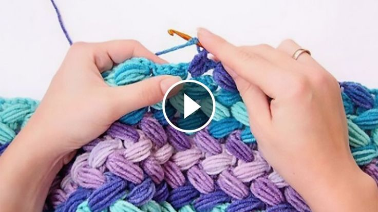 Puff stitch is one of the most popular patterns and there are many variations of this stitch. Today I'm going to show you the pattern ofbraid puff stitch.