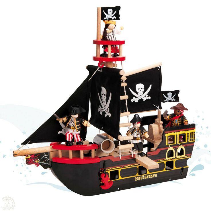 Le Toy Van - Barborossa Pirate Ship