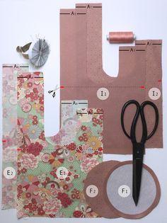 Tuto - Knot Bag, le sac Japonais ! - DIY District - Tuto étape par étape !! Merci !