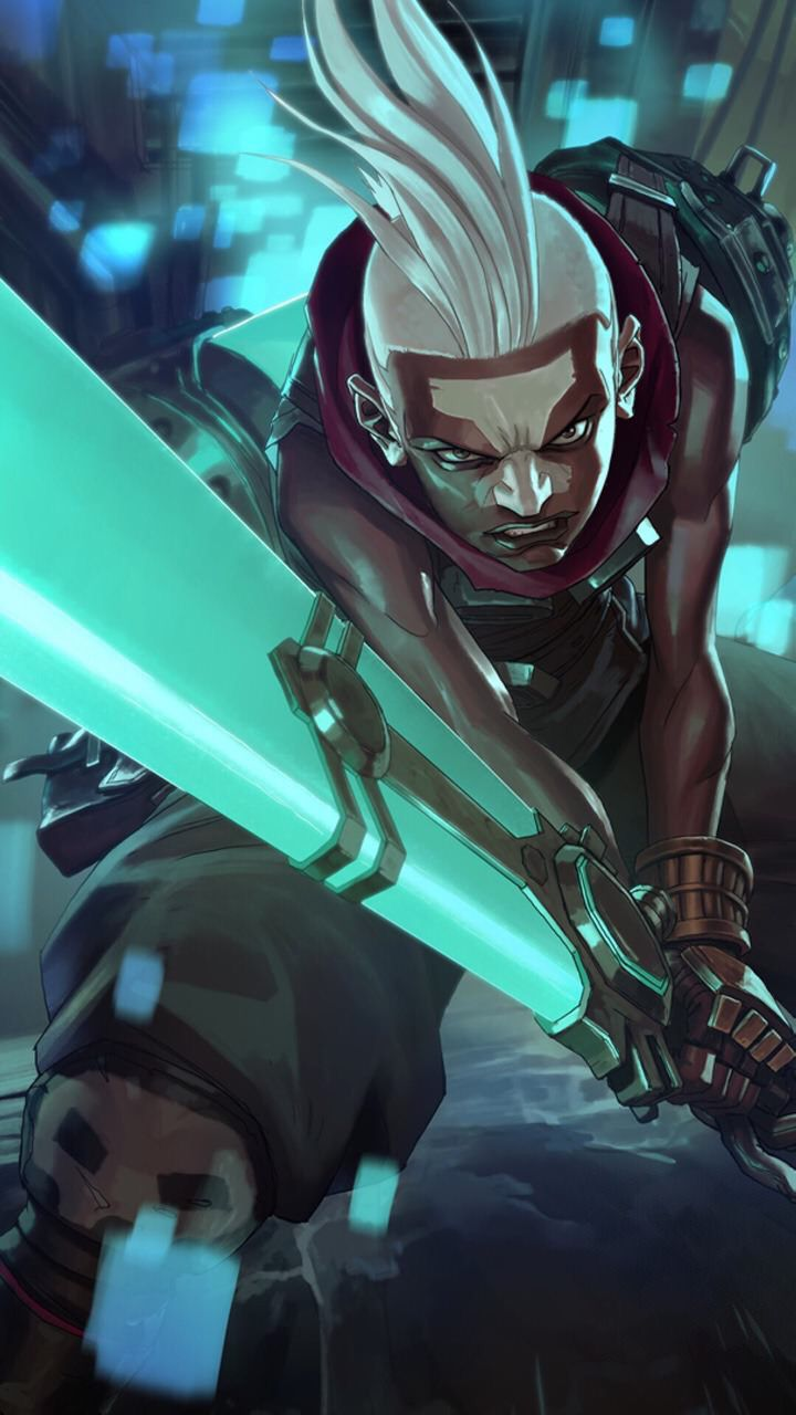 Ekko, league of legends wallpaper Hmm... Ekko is pretty