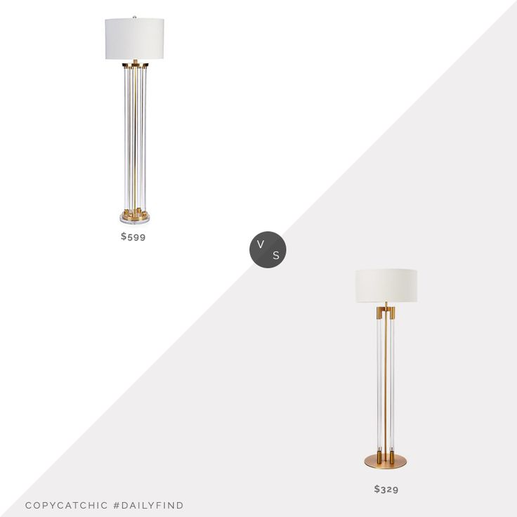Daily Find Floor Lamp Flooring Home Trends