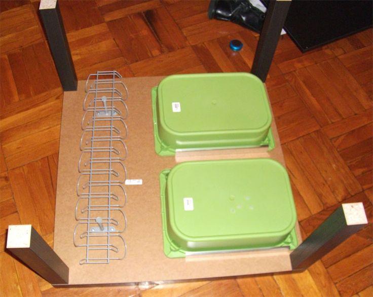 Trofast Drawer for Lack Coffee Table | IKEA Hackers  --> zowel de groene trofast bakken als het idee ze als lade te gebruiken onder een klein tafeltje