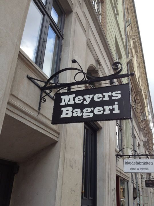 This was the first Meyers Bageri that I went to. I still maintain that they have the best kanelsnegl in Copenhagen!
