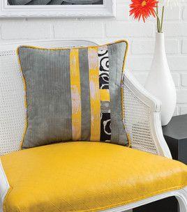 Joann fabric idea.... patchwork pillow