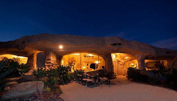 дом пещера в Малибу