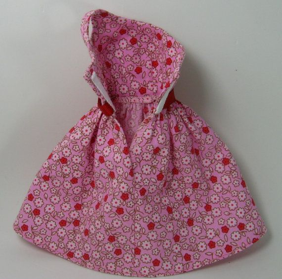 Barbie Clothes  Pink Print Dress for the by OhSoChicDollClothes, $8.50