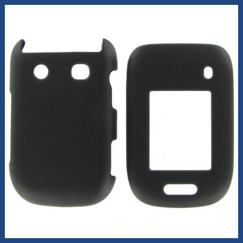 Buy Blackberry 9670 (Style) Black Rubber Protective Case NEW for 3.99 USD | Reusell