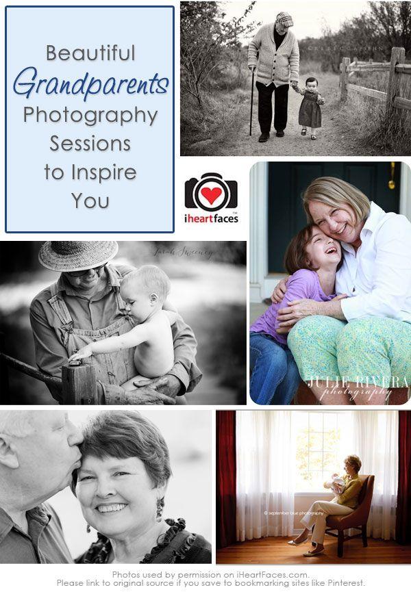 10+ Beautiful Grandparent Photos {Grandparents Day Photography Inspiration}
