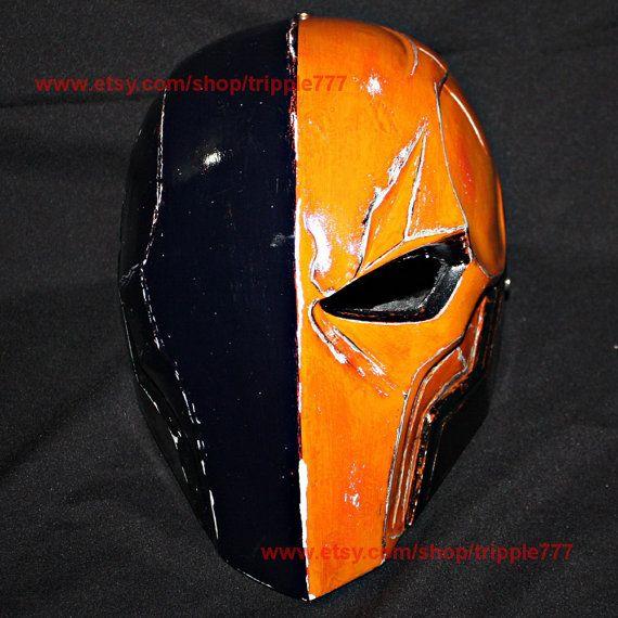 Deathstroke Arkham Deathstroke Mask Deathstroke by tripple777