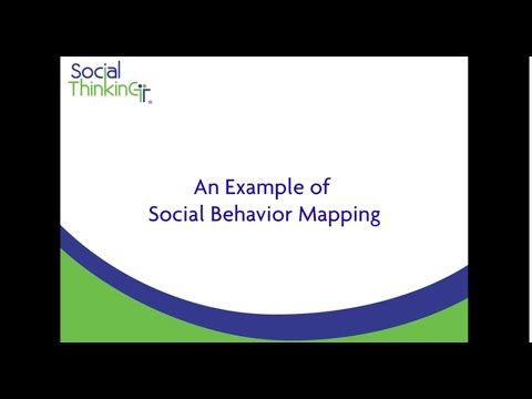 Unexpected & Expected behaviors. A thoughtful example of Social Behavior Mapping from a 16 year old having to spend all summer with his mother