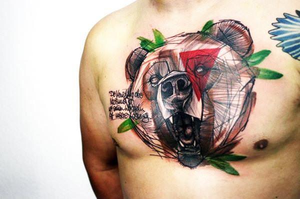 10 εντυπωσιακά τατουάζ σε μεγάλο μέγεθος!