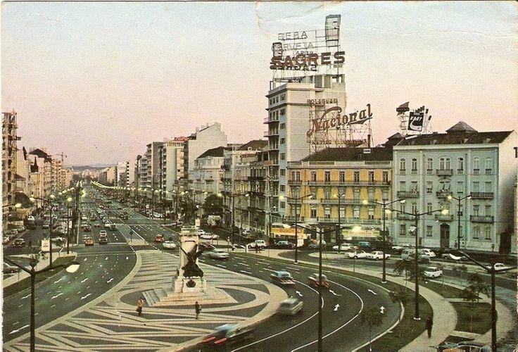 Saldanha Square at the 70's