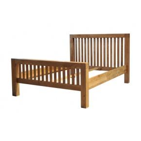 Tokyo Solid Oak MRB50 5FT (King Size) Bed  www.easyfurn.co.uk
