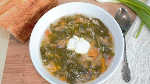 Суп из щавеля с тушенкой. Пошаговый рецепт с фото на Gastronom.ru