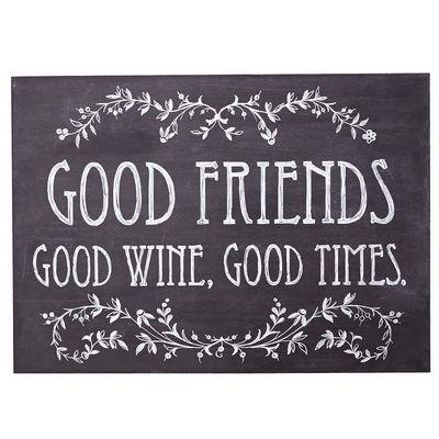 Good Friends Wall Decor