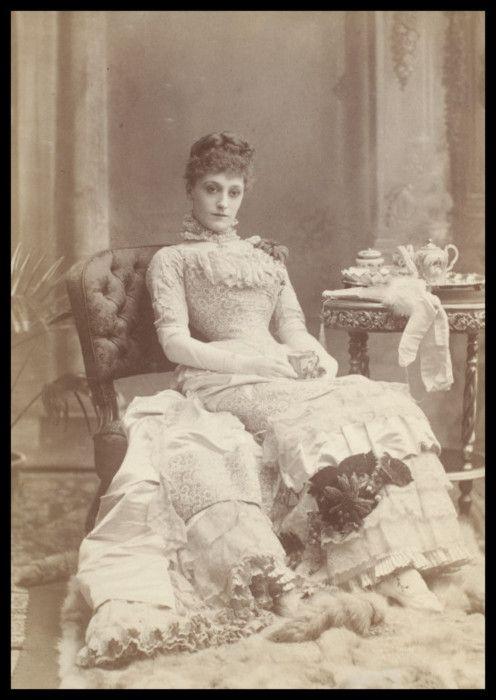 Miss Kate Vaughan (1852 - 1903).