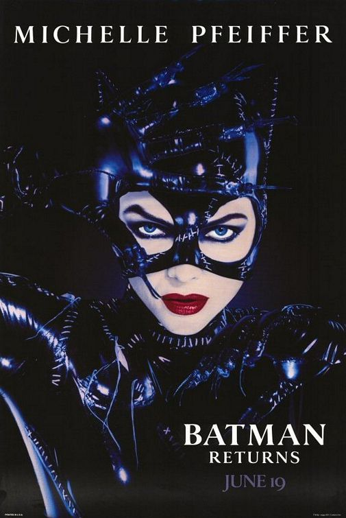"Is ""Batman Returns"" an incredibly cheesy movie? Yes. But does Michelle Pfeiffer make the entire film absolutely worth it? Of course! There's no comparison of post '70s Catwomen. Pfeiffer rules as Kitty Queen. Halle Berry? That cat needed to be put to sleep. Permanently."