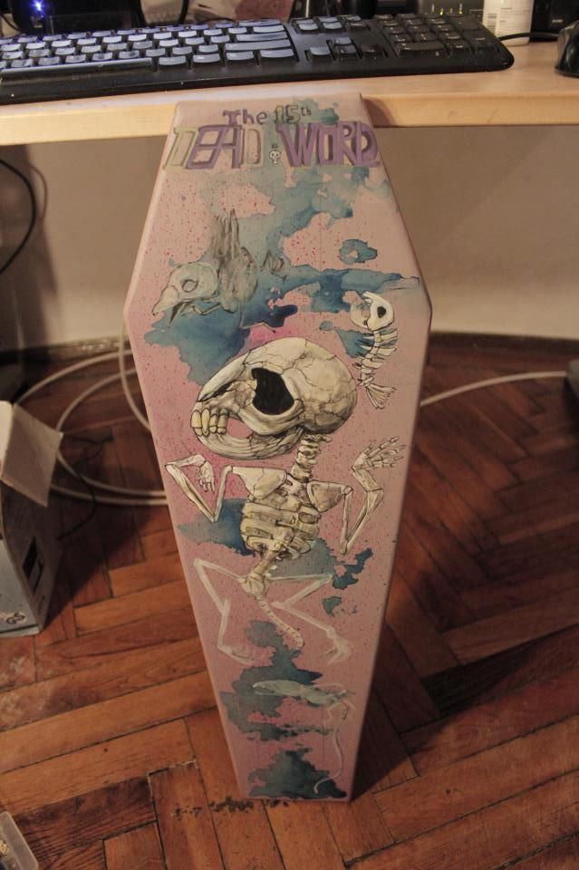Badass cruiser deck - Birds of Paradise collection