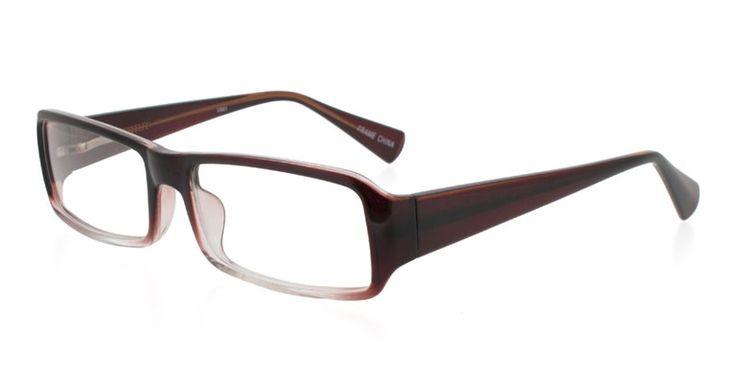 Jarrah Brown Crystal Prescription Eyeglasses From USD58 ...