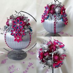 #kanzashi #kanzashiflowers #artist #art #diy #hobby #hobbys #satin #satinribbon #satinribbons #beautiful #beautifull #beauti #kwiaty #flower #flowers #rękodzieło #ozdoba #dekoracjadomu #bombka #christmas #christmastime #dekoracja #stroik #święta