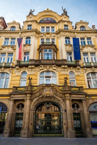 Old Town Square, Prague (Czech Republic)