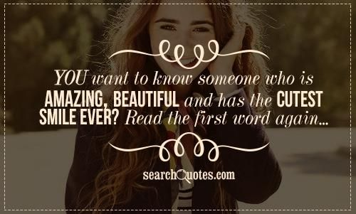 you have a beautiful smile quotes - photo #15