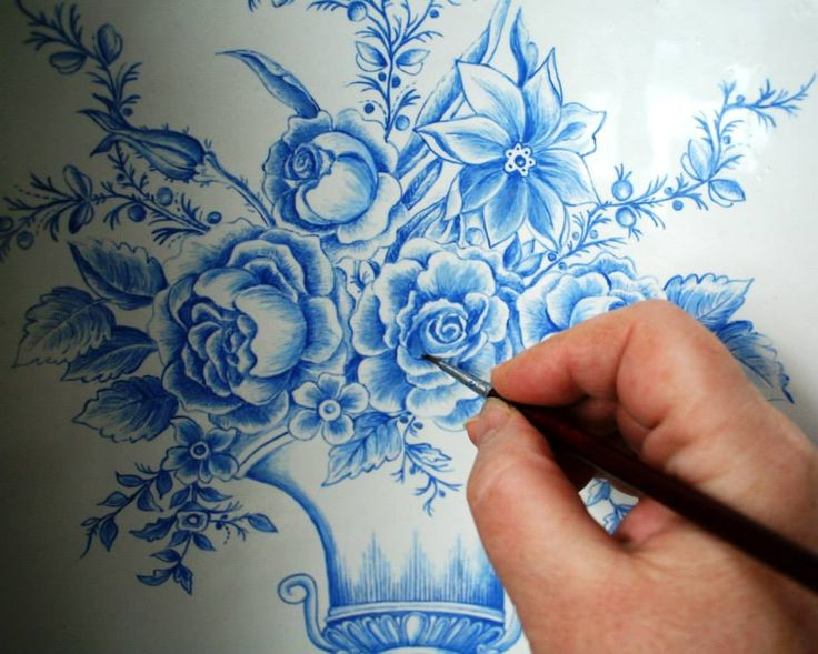 malowanie kobaltem