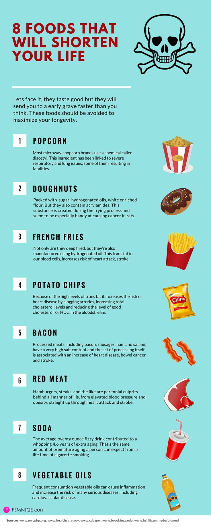 8 Unhealthy Foods To Avoid: Foods That Will Shorten Your Life!