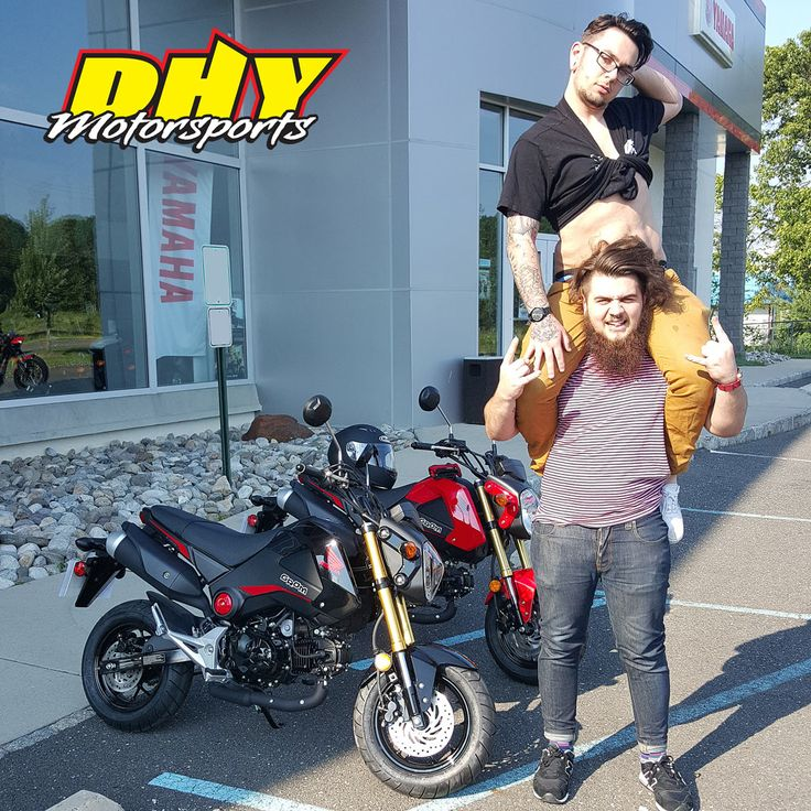 Congratulations to Joseph from #Collingswood and Jonathan from #CherryHill They are really excited about their purchase of these 2015 #Honda #Grom #125F Enjoy all of the fun. Thank you for making your purchase at #DHYMotorsports You can help them win a $100 Gift Card by clicking 'Like' on this post. #mynewride #dhynj