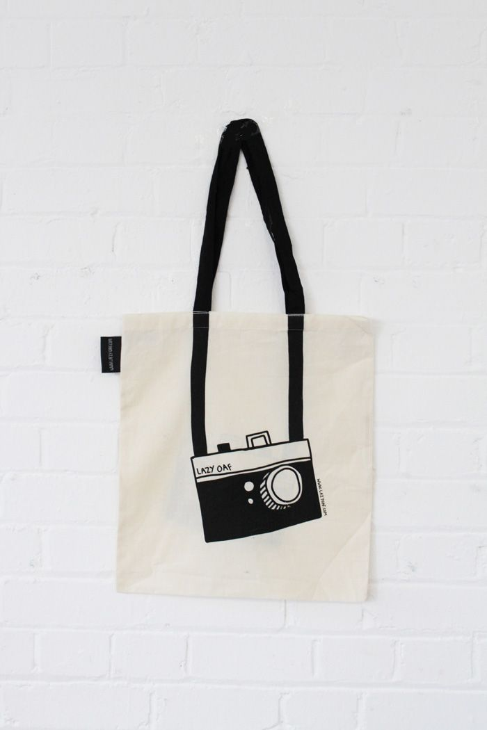 Photography tote bag cotton- cutee