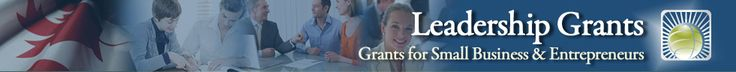 Leadership Grants and Loans for Small Business