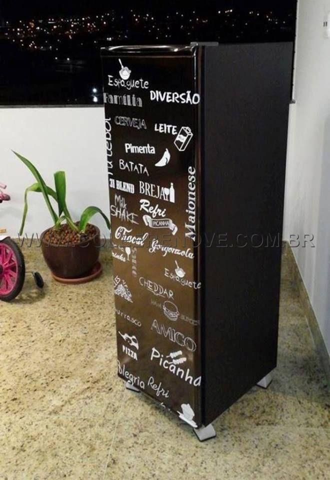 Envelopamento de Geladeira Adesivos: Arte Gourmet Entre em contato conosco e peça o seu. www.coleerenove.com.br Contato: 31 3065-1211 | 31 3019-7134 Whatsapp: 31 93675112 Curta a nossa página: https://www.facebook.com/Coleerenove2013?ref=hl #decoração #adesivos #EnvelopamentoDeArmarios #EnvelopamentoDeMoveis #AdesivoParaBox #AdesivoParaPorta #EnvelopamentoDeGeladeiras #AdesivoDeParede