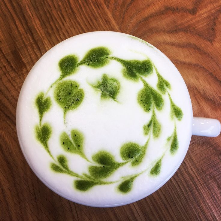Gringos & Tea a Matcha latte v restauraci Podnos Ústí nad Labem