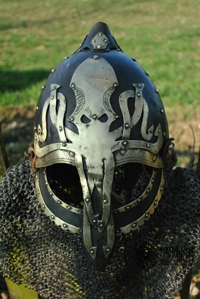 Fuck Yeah LARP, krushak-dagra: Greyjoy commander's helmet by...